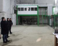 В Угранском районе открылся лесопильный завод