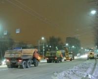 В Смоленске коммунальщики за неделю засыпали песком 1284000 квадратных метров улиц