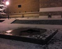 В сквере Памяти Героев потух «Вечный огонь»