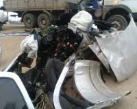 В жуткой аварии погибли два человека