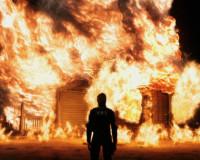В Сафоновском районе произошли два пожара