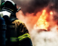 В «Смоленском Поозерье» произошел пожар