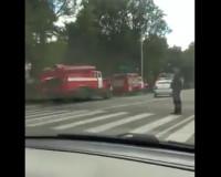 Видео: В Смоленске полыхал частный дом
