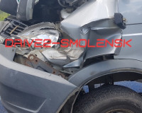 В Смоленске две грузовые «ГАЗели» не поделили дорогу