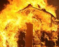 В результате страшного пожара погибла женщина