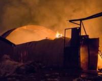 В Смоленской области огонь уничтожил 20 тонн сена