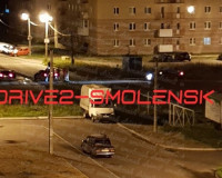 В Смоленске автомобиль сбил мотоциклиста