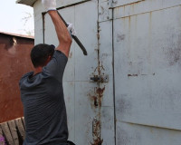 Житель Демидовского района обворовал гараж соседа