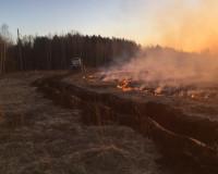 В Смоленской области чуть не сгорела целая деревня (фото)