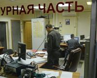 Задержанный хулиган устроил драку в отделении полиции