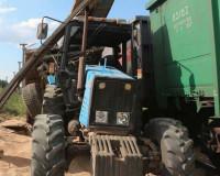 В Смоленской области трактор попал под поезд