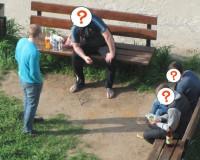 Любители пенного справляли нужду на детской площадке (фото)
