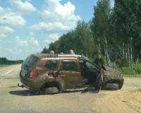 В страшной аварии под Смоленским погибла женщина