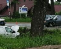 На улице Кутузова произошла жесткая авария