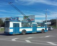 На Киселёвке пенсионерку зажало дверями троллейбуса