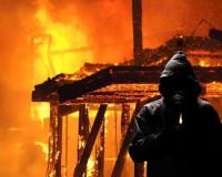 Житель Смоленской области поджог дом и убежал
