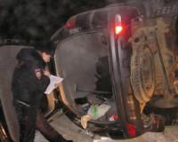 Браконьеры уходили от погони и попали в аварию (фото)