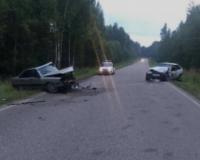 Под Смоленском в ДТП с Ауди и ВАЗом пострадал автомобилист