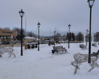 Неустановленные вандалы обезглавили новогодние фигуры оленей в Смоленской области (фото)