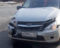В серьёзной аварии под Смоленском получила травмы пассажирка «Гранты»