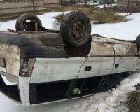 После лобового ДТП в Шейне водитель оказался в реанимации (фото, подробности)