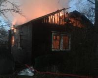 Страшная трагедия. В пожаре под Смоленском погибли ребенок и женщина