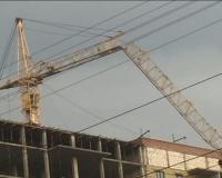 В Смоленске рухнула часть башенного крана. Застройщик дал комментарий (фото)
