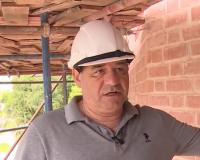 Ремонтные работы на Громовой башне собираются закончить ко Дню города (видео)