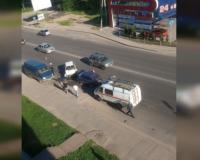 Стали известны подробности жесткого лобового ДТП на улице Свердлова