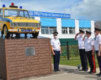 В Смоленске появился памятник патрульному автомобилю ГАИ
