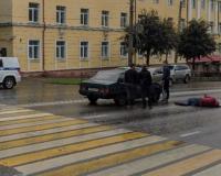 Фото: В центре Смоленска на пешеходном переходе сбили мужчину