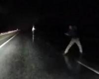 Видео: Автомобилистов Смоленска предупредили о хулигане на трассе Р-120