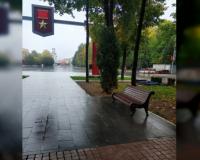 Благоустройство сквера имени Клименко подходит к завершению