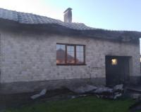 В Боровой загорелись гараж и жилой дом