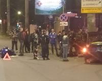 В Смоленске в жестком аварии пострадал гонщик