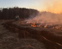 Почти 3 000 гектаров земли выгорело в Смоленской области