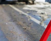 В Сафоновском районе опрокинулась иномарка