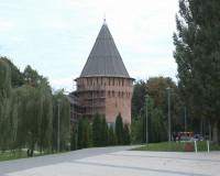 На Громовой башне завершаются реставрационные работы