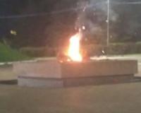 Под Смоленском неизвестные сожгли венок на Вечном Огне