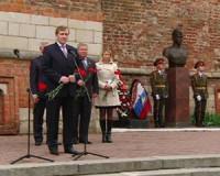 Смоляне почтили память земляка, водрузившего Знамя Победы над Рейхстагом