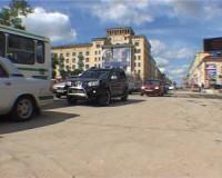 На площади Победы в Смоленске открылось двустороннее автомобильное движение