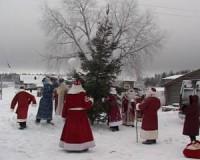 Смоленский Дед Мороз лучше всех укутал снегом карельскую ель