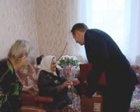 Жительнице Кардымова Смоленской области исполнилось 100 лет