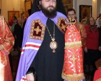 Смоленский епископ посетил строящийся храм на Катынском мемориале