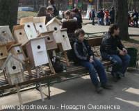 В городе объявлен конкурс скворечников