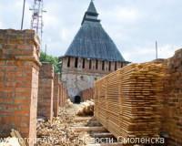 К концу года смолянам обещают презентовать обновленные башни крепостной стены и Королевский бастион