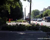 На улице Дзержинского в Смоленске перенесут опоры линии электропередачи