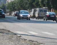 Ограничат движение по улице Глинки