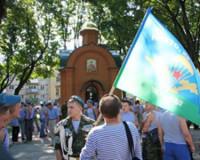 Смоленские десантники сожалели, что не смогли в праздник искупаться в фонтанах