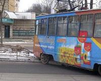 В Смоленске в наступившем году с рельсов сошел уже второй трамвай